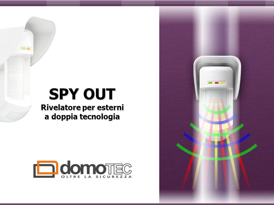 SPY OUT Rivelatore per esterni a doppia tecnologia