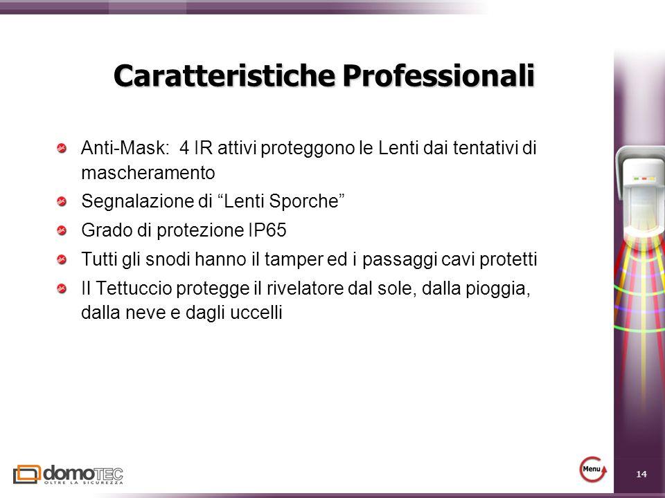 Caratteristiche Professionali