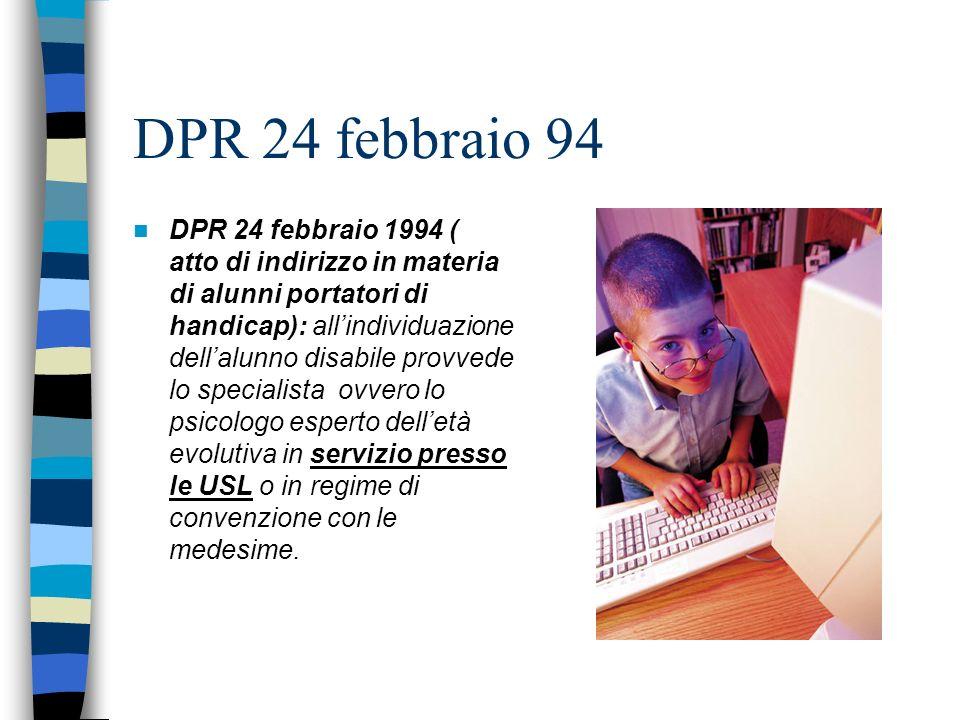 DPR 24 febbraio 94