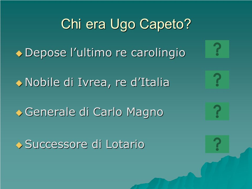 Chi era Ugo Capeto Depose l'ultimo re carolingio