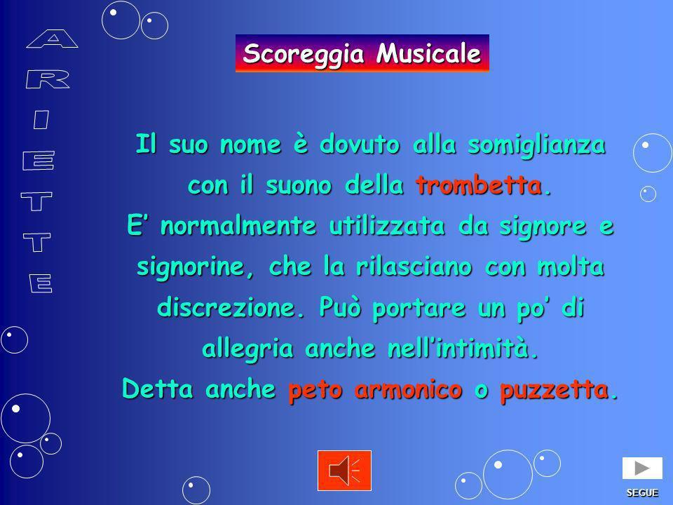 ARIETTE Scoreggia Musicale