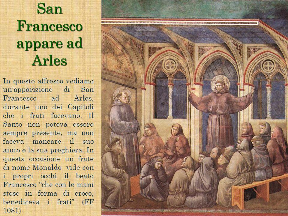 San Francesco appare ad Arles