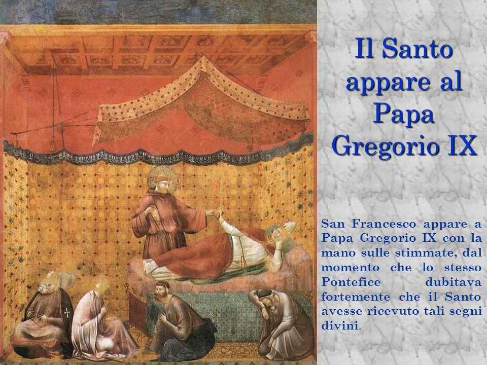 Il Santo appare al Papa Gregorio IX