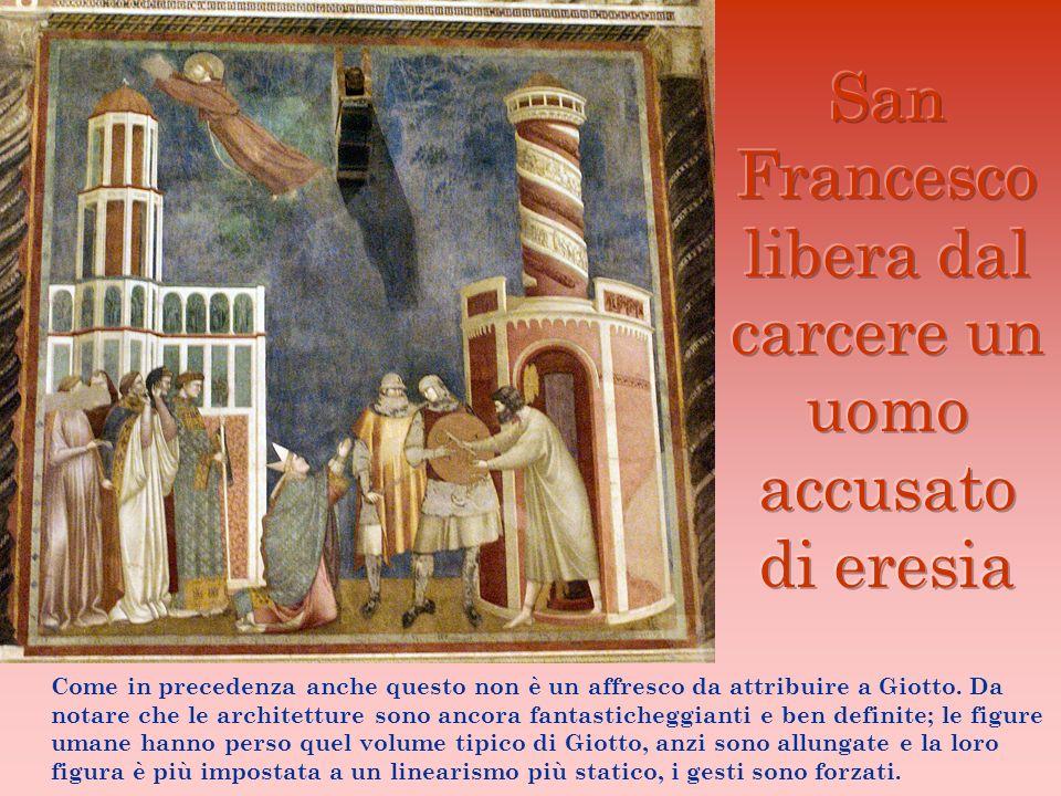 San Francesco libera dal carcere un uomo accusato di eresia
