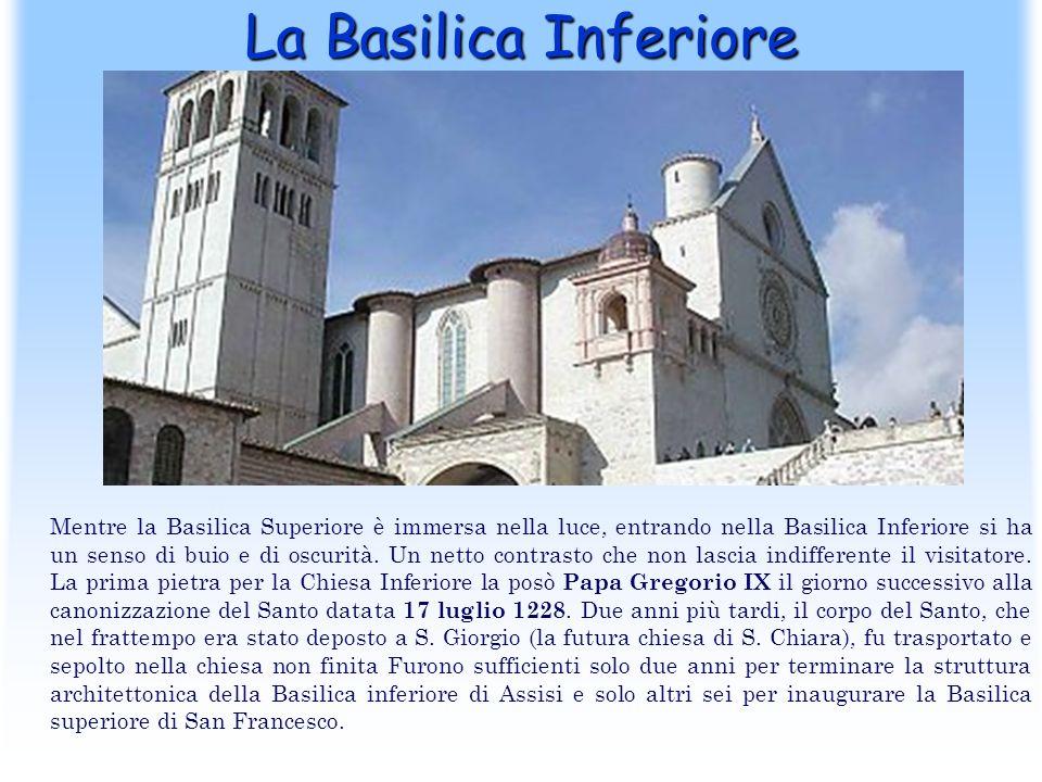 La Basilica Inferiore