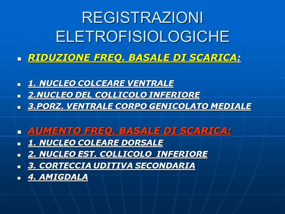 REGISTRAZIONI ELETROFISIOLOGICHE