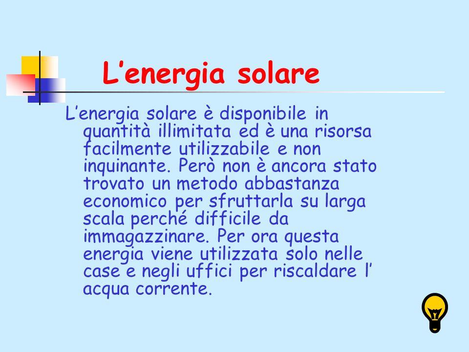 L'energia solare