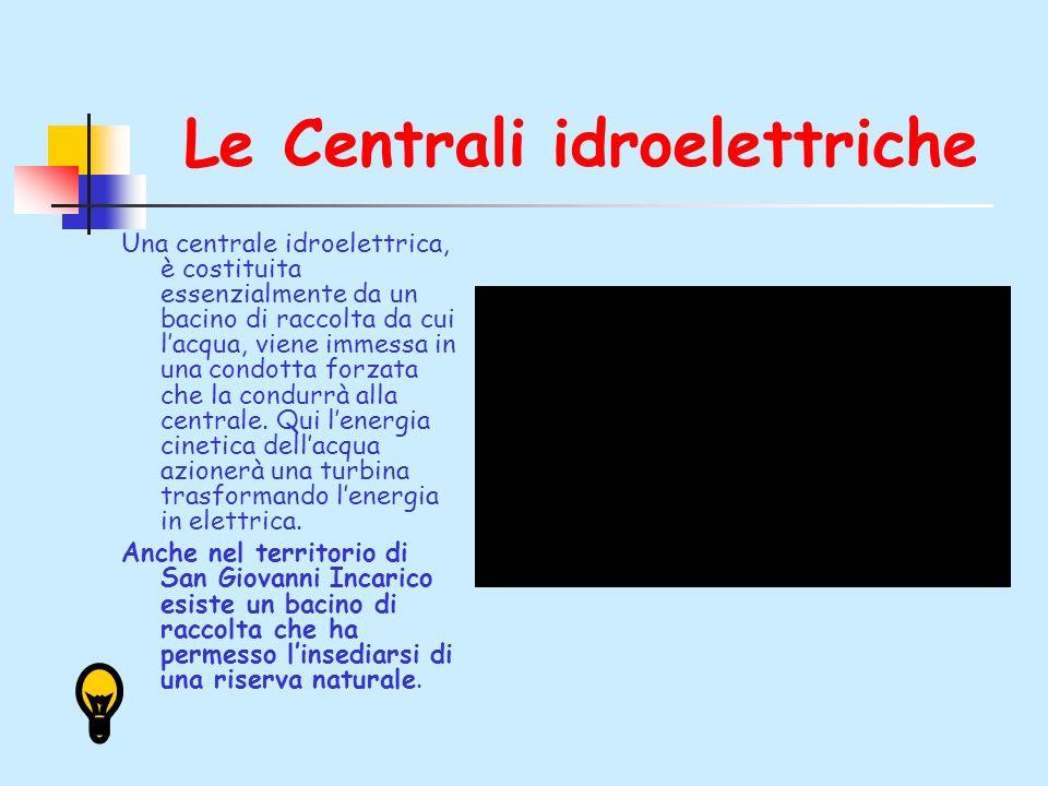 Le Centrali idroelettriche