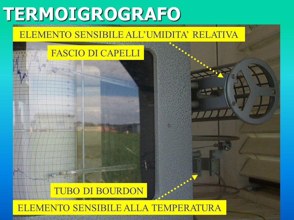 TERMOIGROGRAFO ELEMENTO SENSIBILE ALL'UMIDITA' RELATIVA