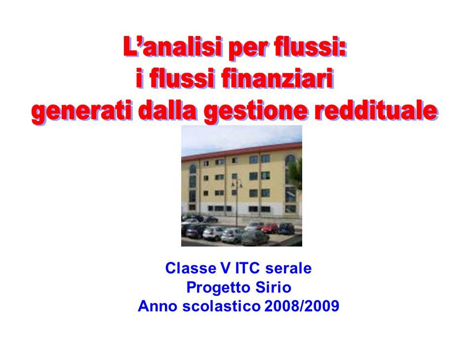 Classe V ITC serale Progetto Sirio Anno scolastico 2008/2009