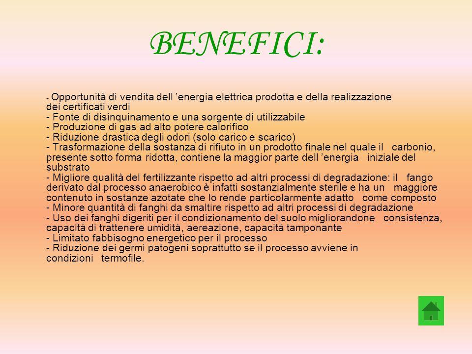BENEFICI: