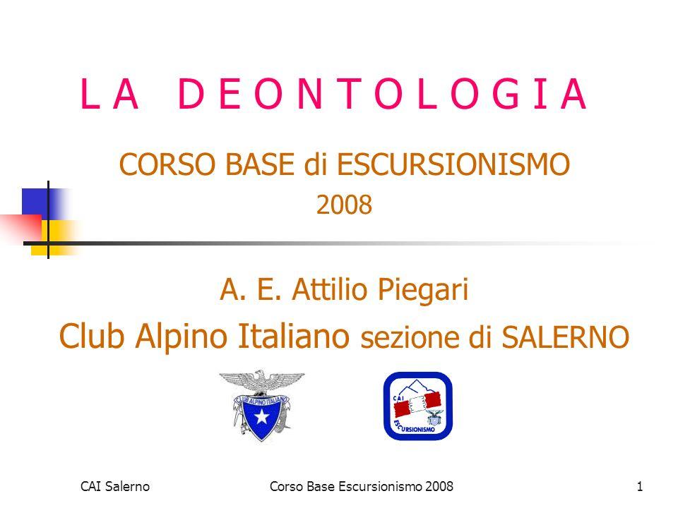 Club Alpino Italiano sezione di SALERNO