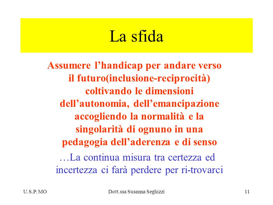 Dott.ssa Susanna Seghizzi