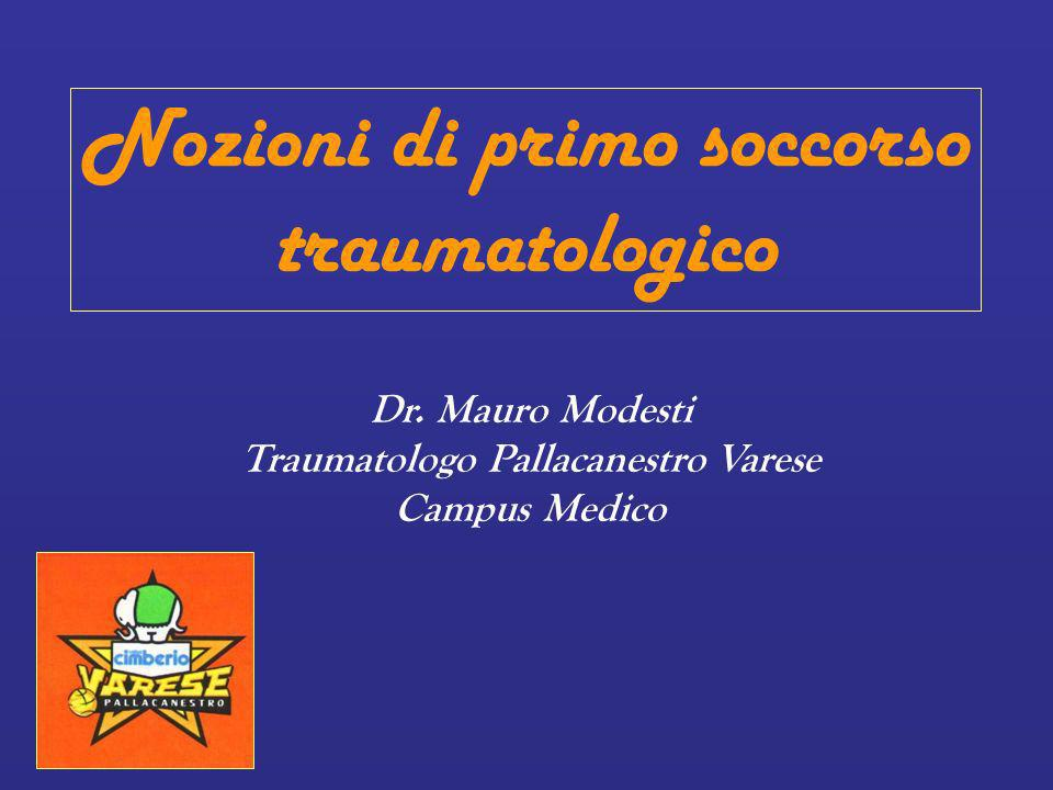 Traumatologo Pallacanestro Varese