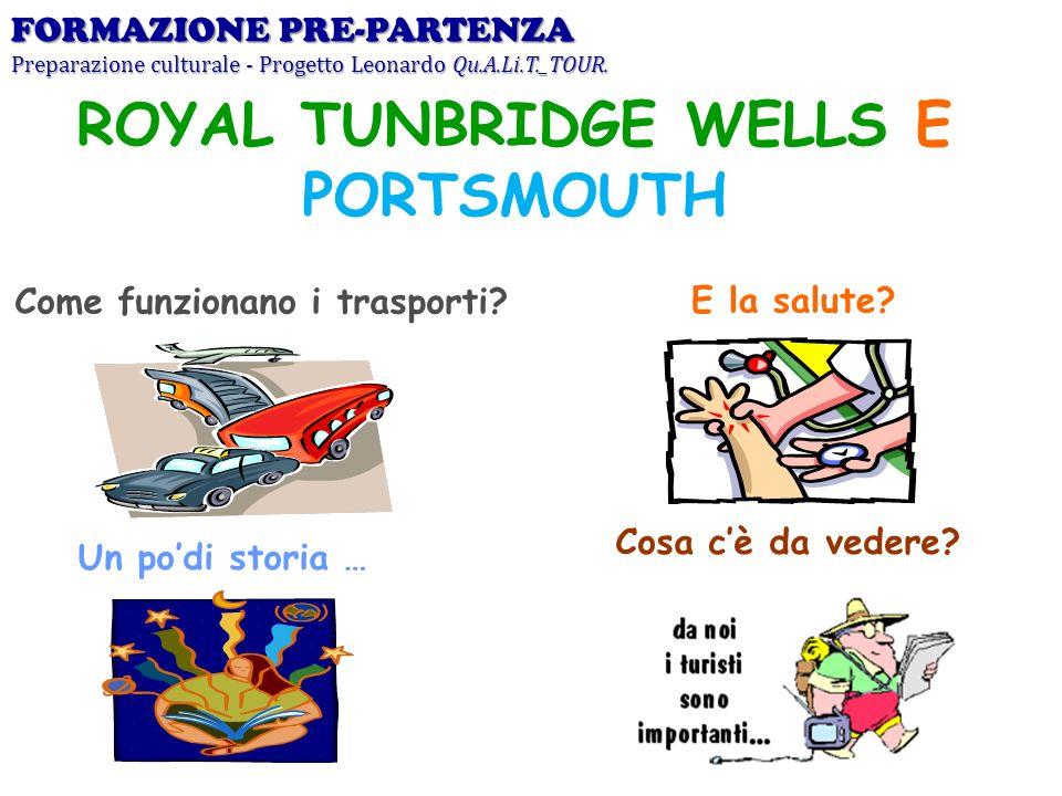 ROYAL TUNBRIDGE WELLS E PORTSMOUTH Come funzionano i trasporti