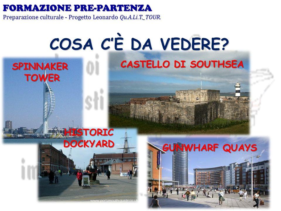 COSA C'È DA VEDERE FORMAZIONE PRE-PARTENZA CASTELLO DI SOUTHSEA