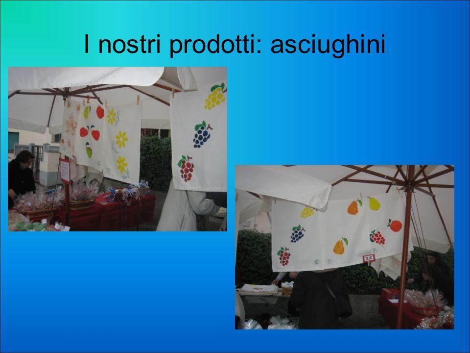 I nostri prodotti: asciughini