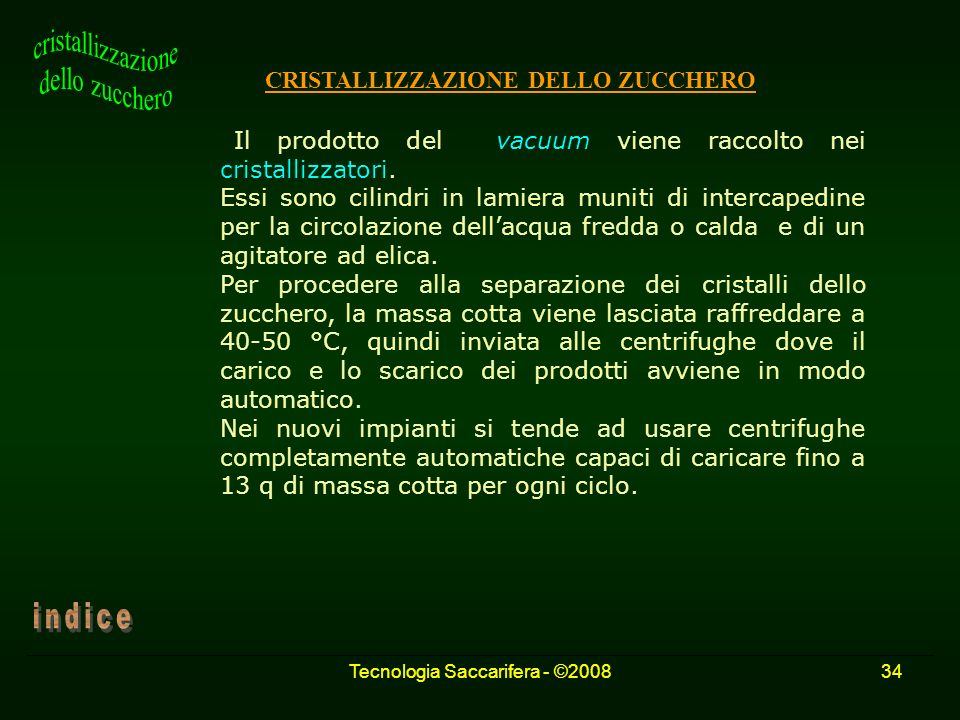Tecnologia Saccarifera - ©2008