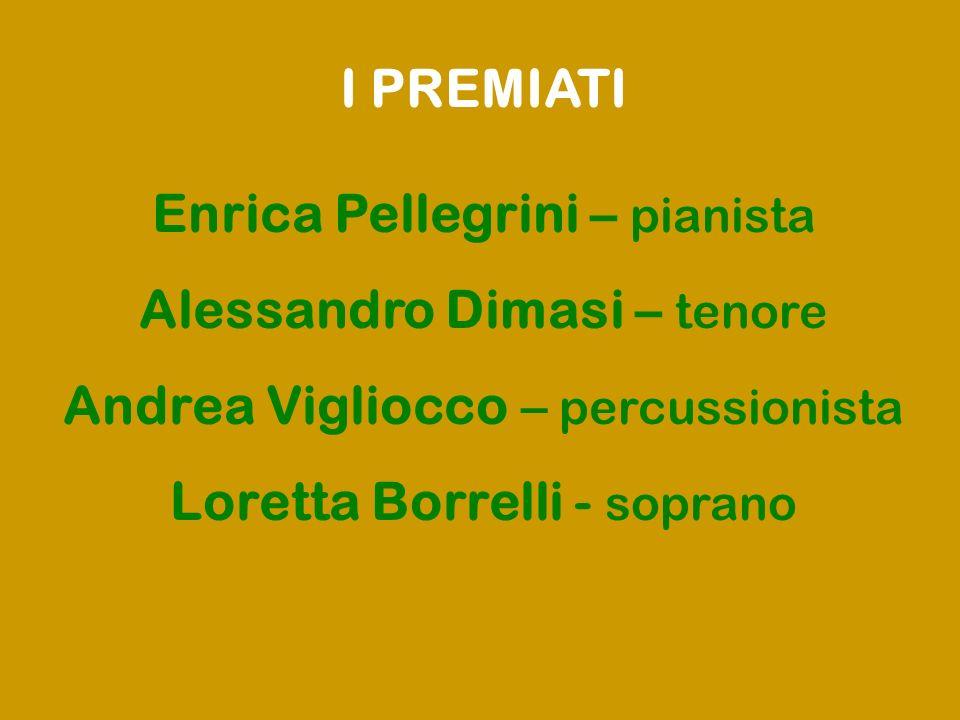 Enrica Pellegrini – pianista Alessandro Dimasi – tenore