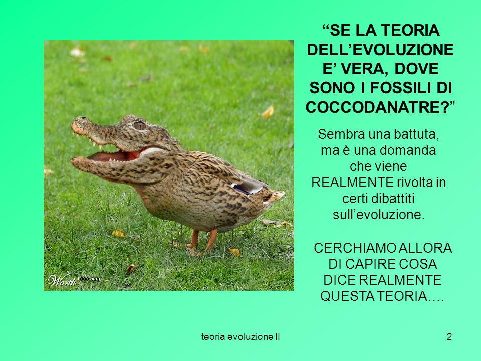 CERCHIAMO ALLORA DI CAPIRE COSA DICE REALMENTE QUESTA TEORIA….