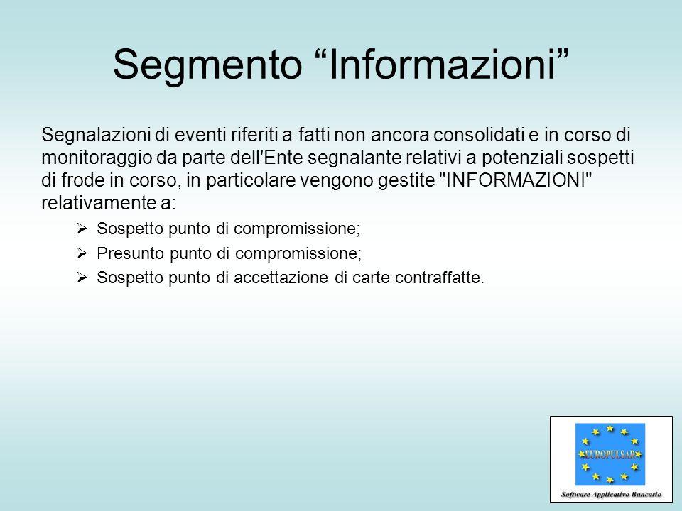 Segmento Informazioni