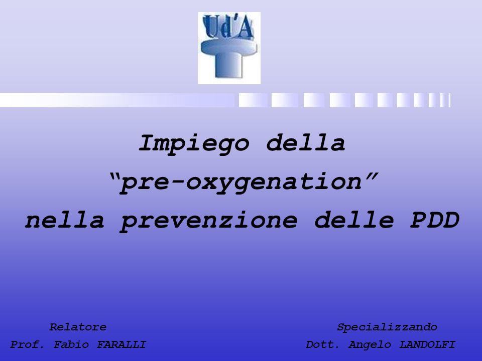 nella prevenzione delle PDD
