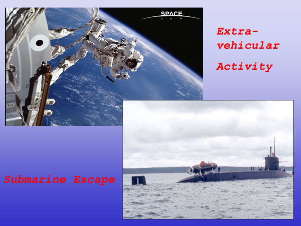 Extra-vehicular Activity Submarine Escape