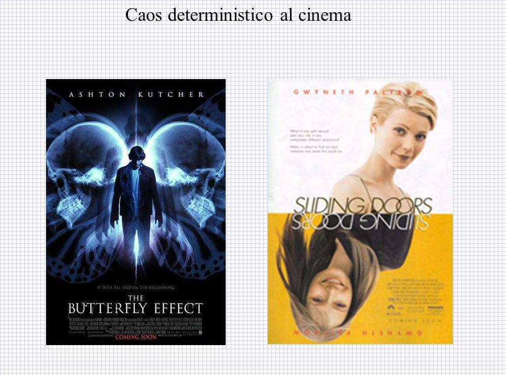 Caos deterministico al cinema