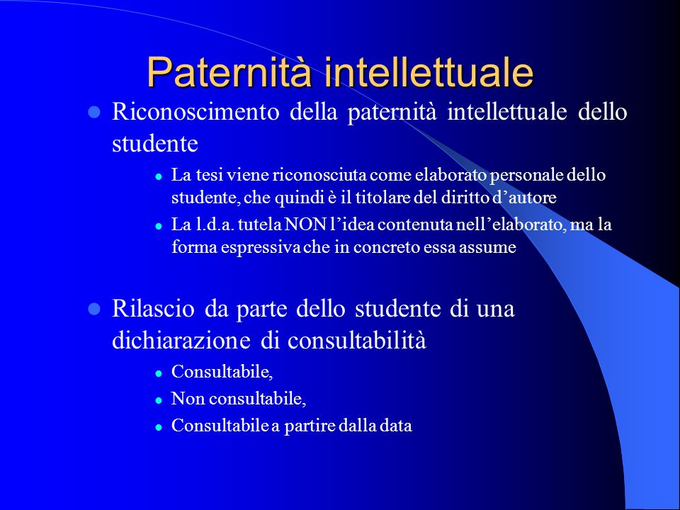 Paternità intellettuale