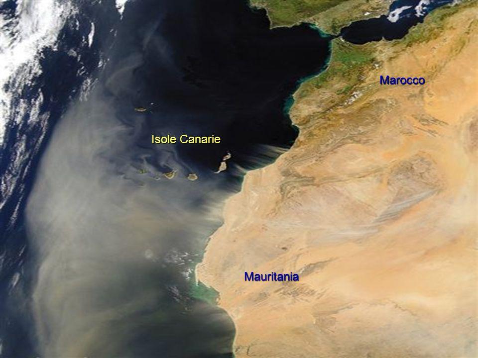 Marocco Isole Canarie Mauritania