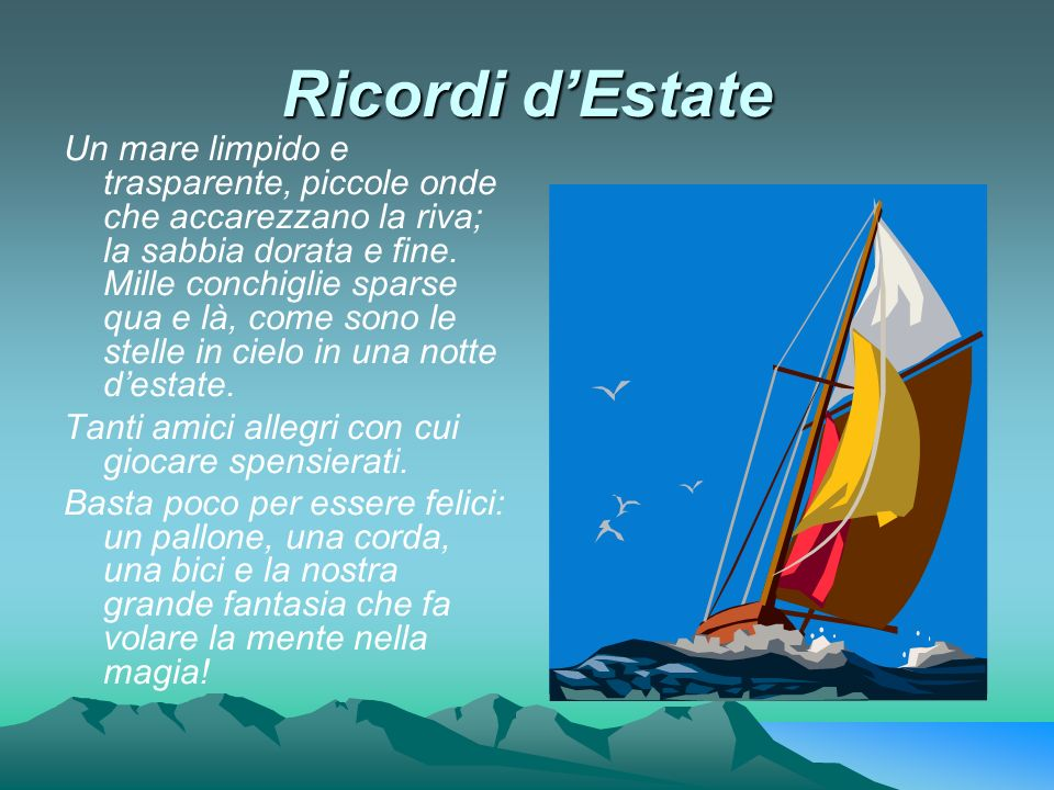 Ricordi d'Estate