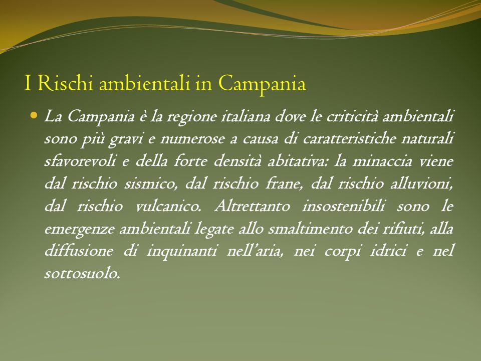 I Rischi ambientali in Campania