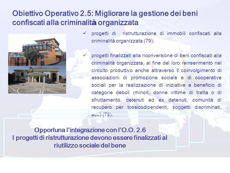Opportuna l'integrazione con l'O.O. 2.6