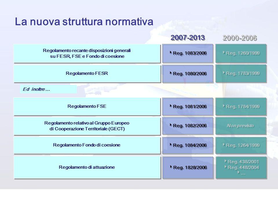 La nuova struttura normativa