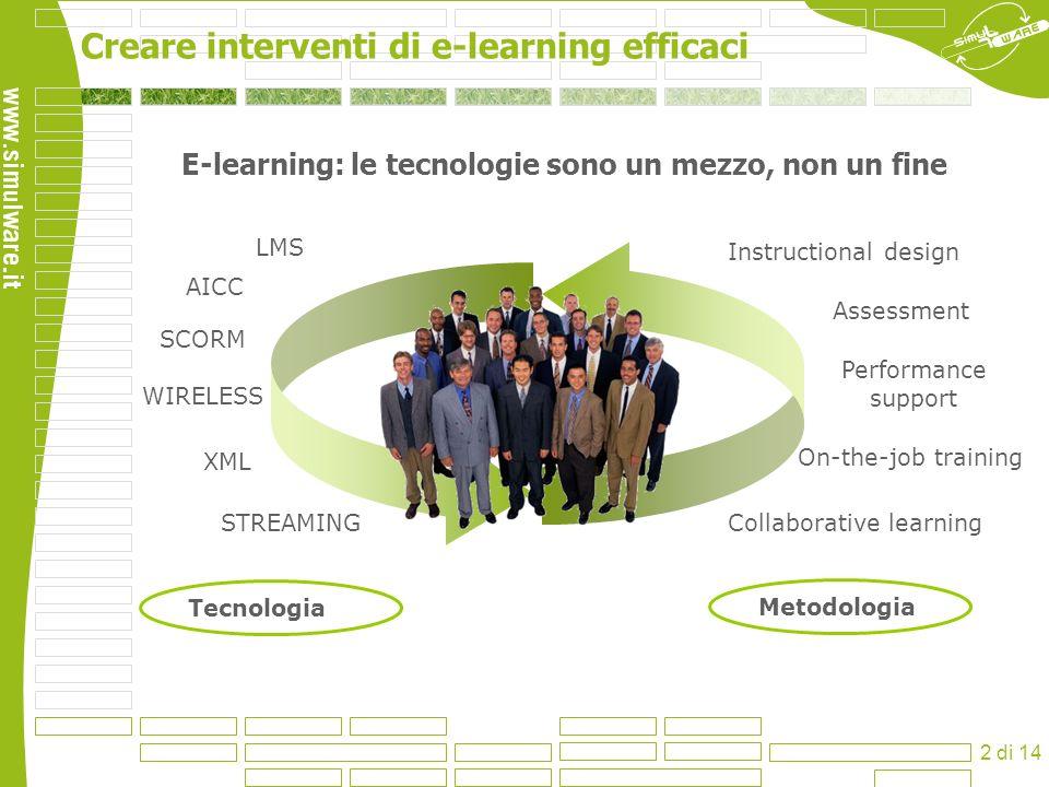 E-learning: le tecnologie sono un mezzo, non un fine