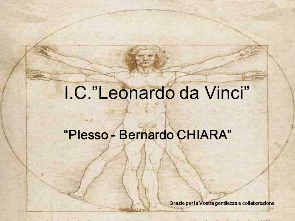 I.C. Leonardo da Vinci Plesso - Bernardo CHIARA