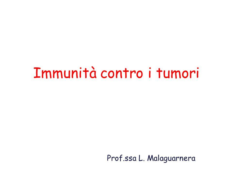 Immunità contro i tumori
