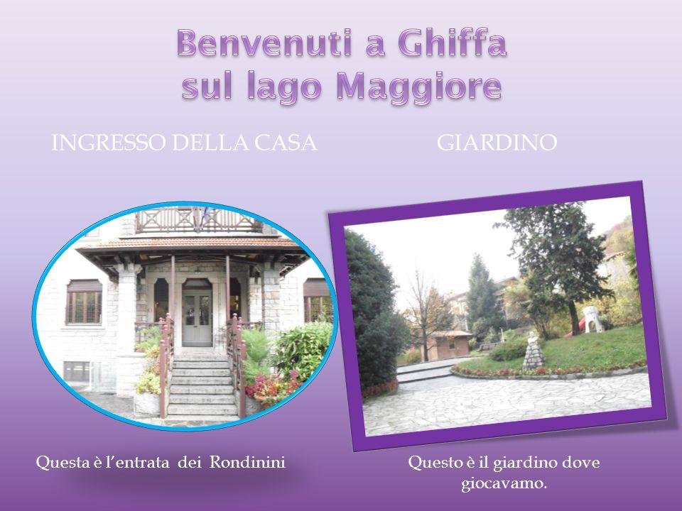 Benvenuti a Ghiffa sul lago Maggiore