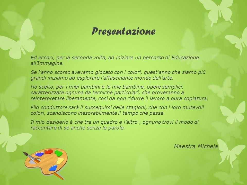 Presentazione Maestra Michela