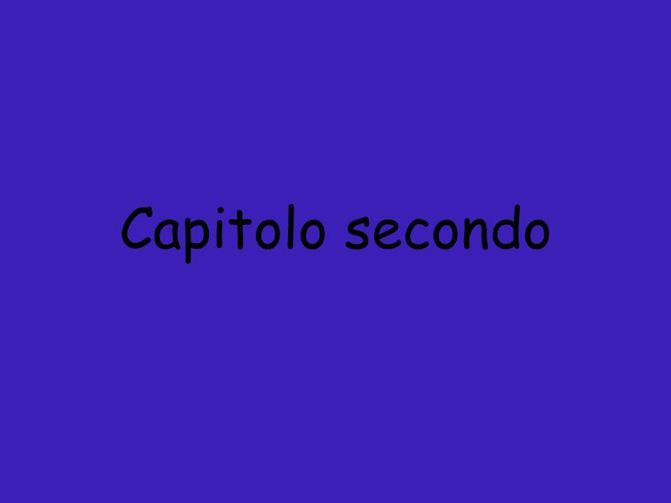 Capitolo secondo