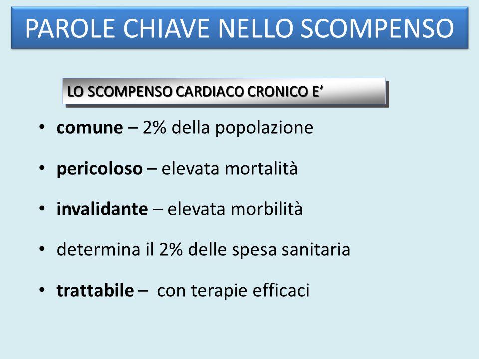PAROLE CHIAVE NELLO SCOMPENSO