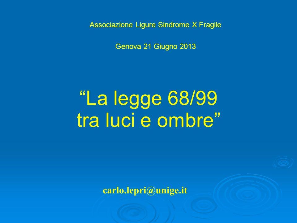 Associazione Ligure Sindrome X Fragile