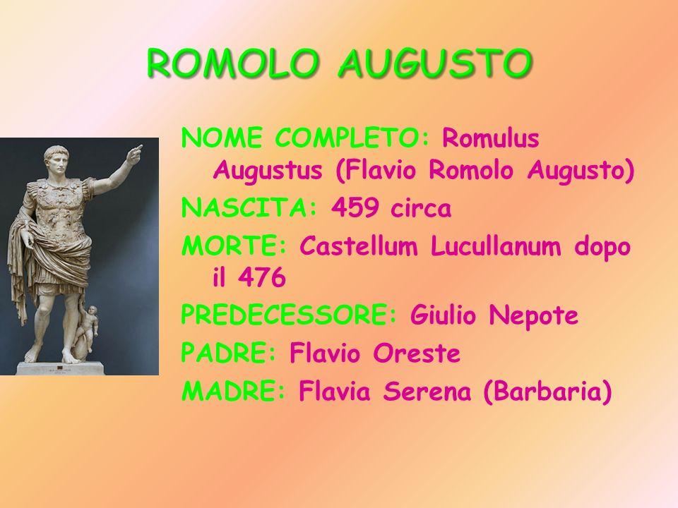 ROMOLO AUGUSTO