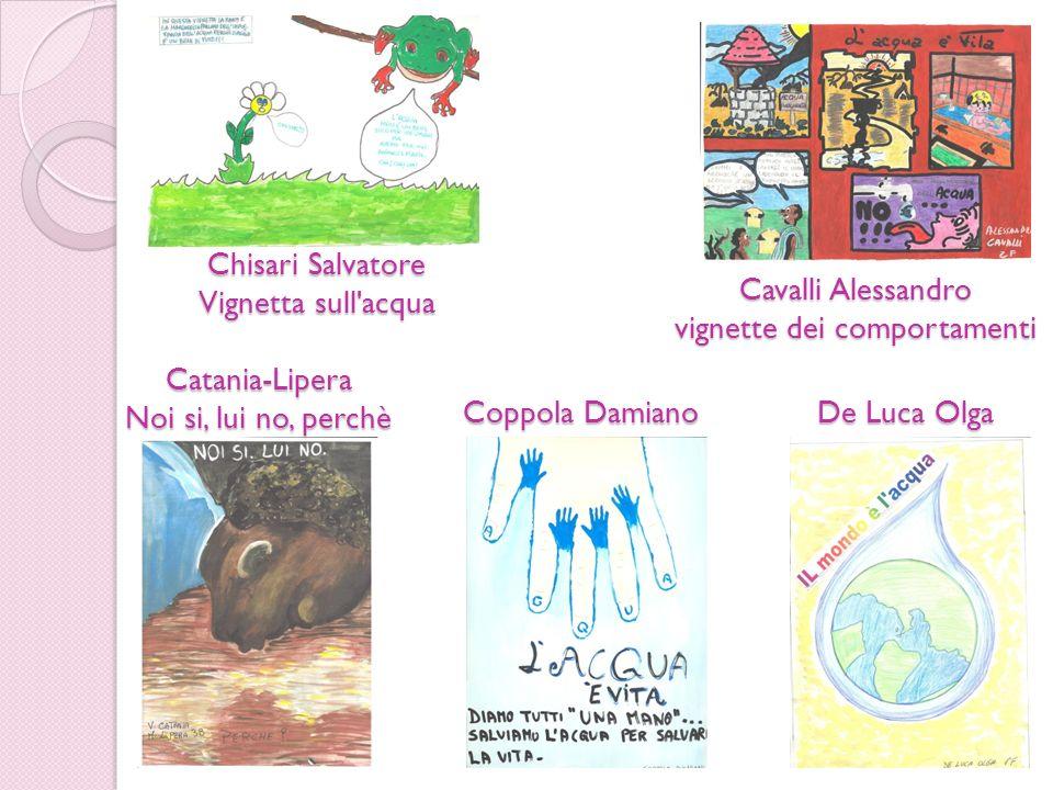 Chisari Salvatore Vignetta sull acqua Cavalli Alessandro