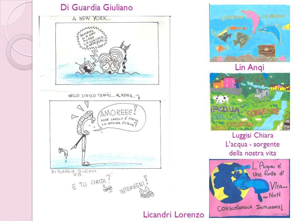 Di Guardia Giuliano Lin Anqi Licandri Lorenzo Luggisi Chiara