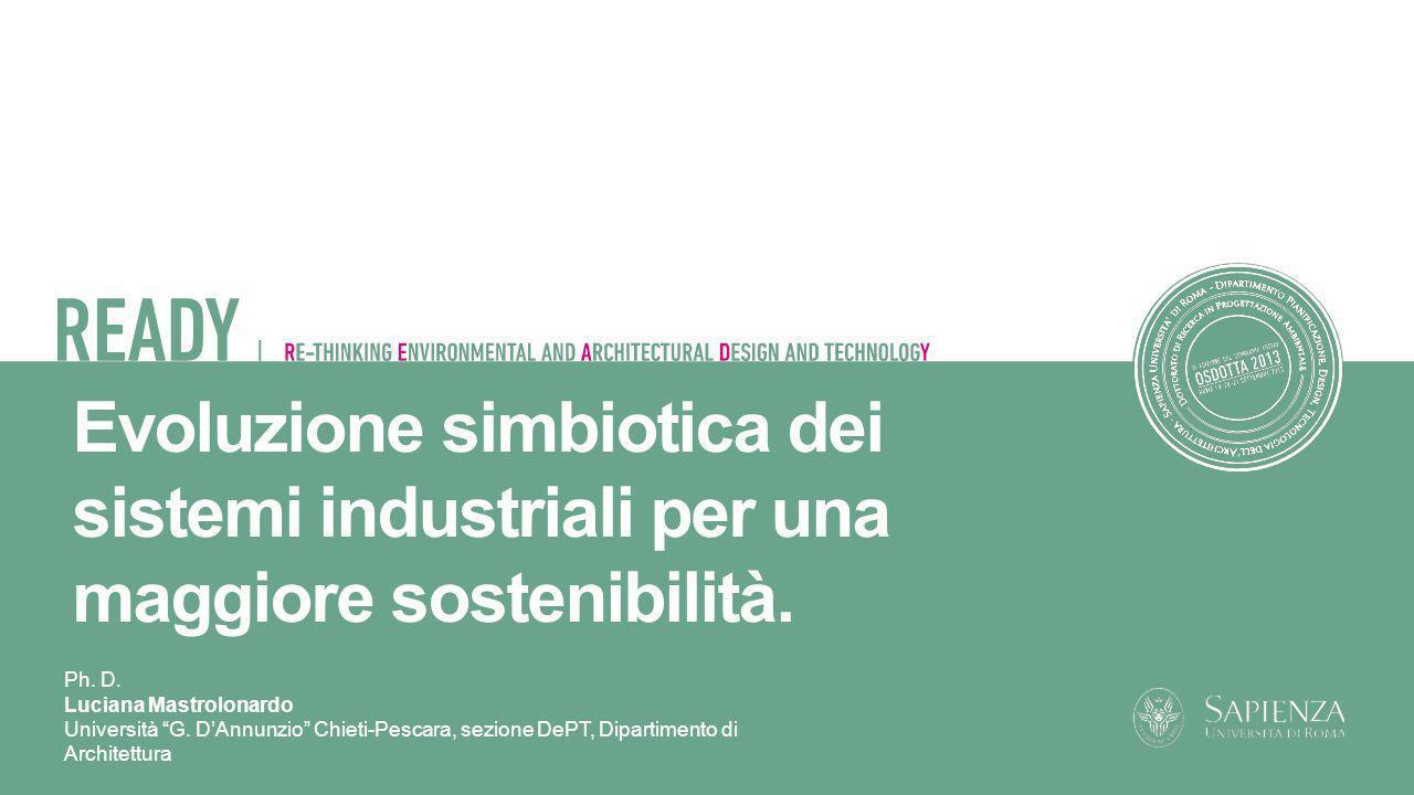 Evoluzione simbiotica dei sistemi industriali per una maggiore sostenibilità.