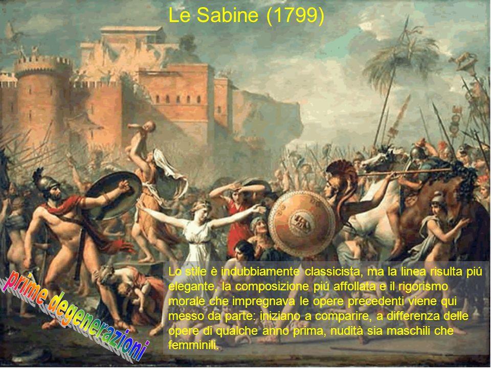 prime degenerazioni Le Sabine (1799)