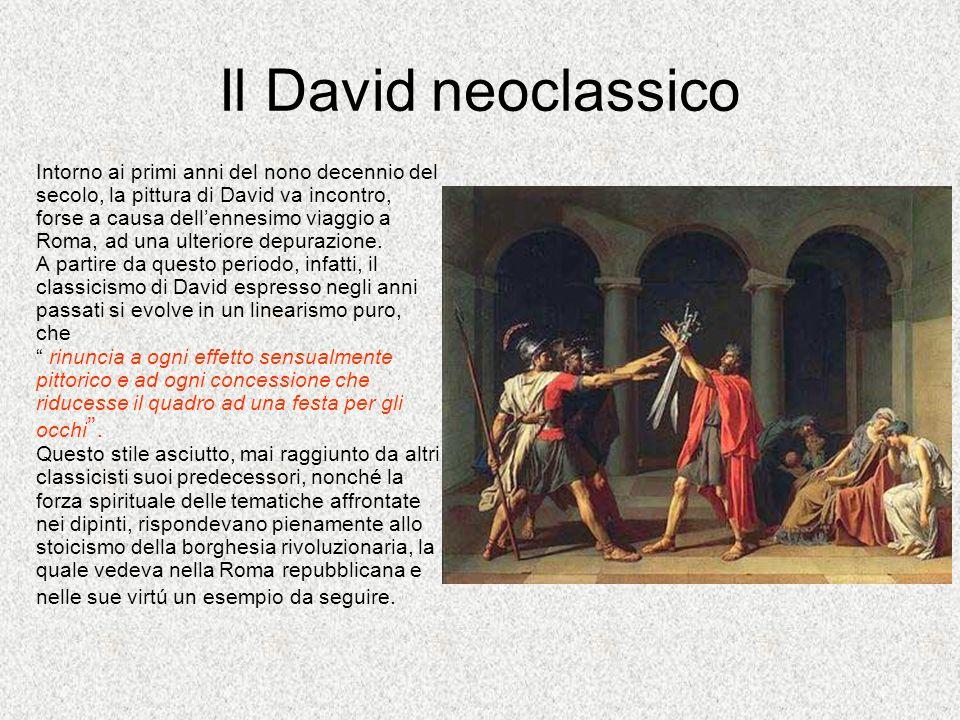 Il David neoclassico