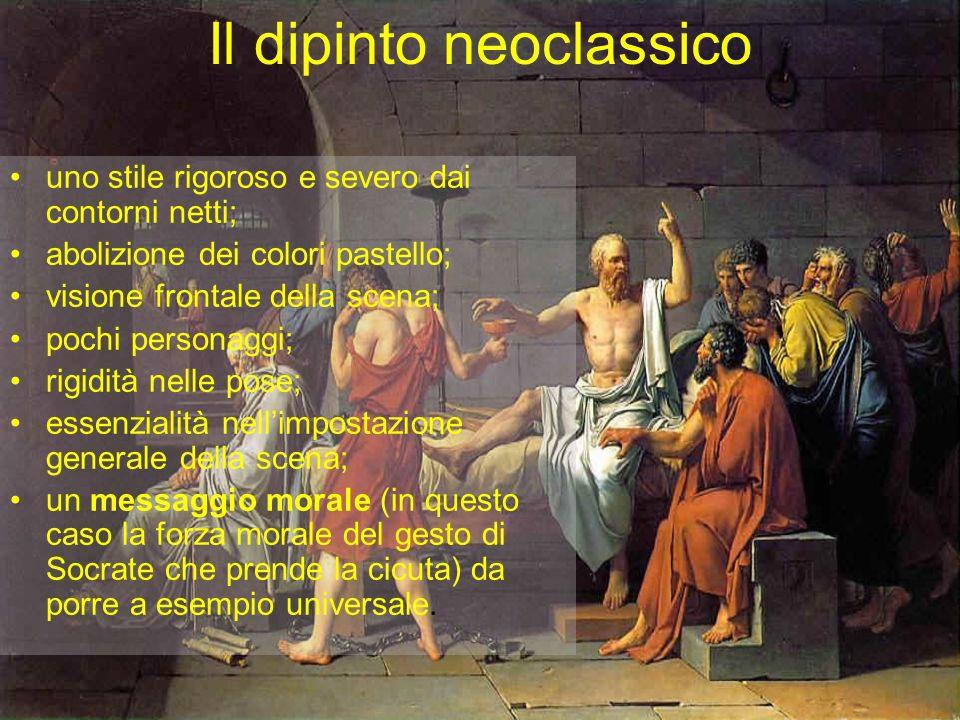 Il dipinto neoclassico