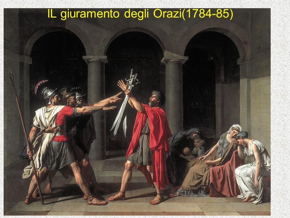 IL giuramento degli Orazi(1784-85)